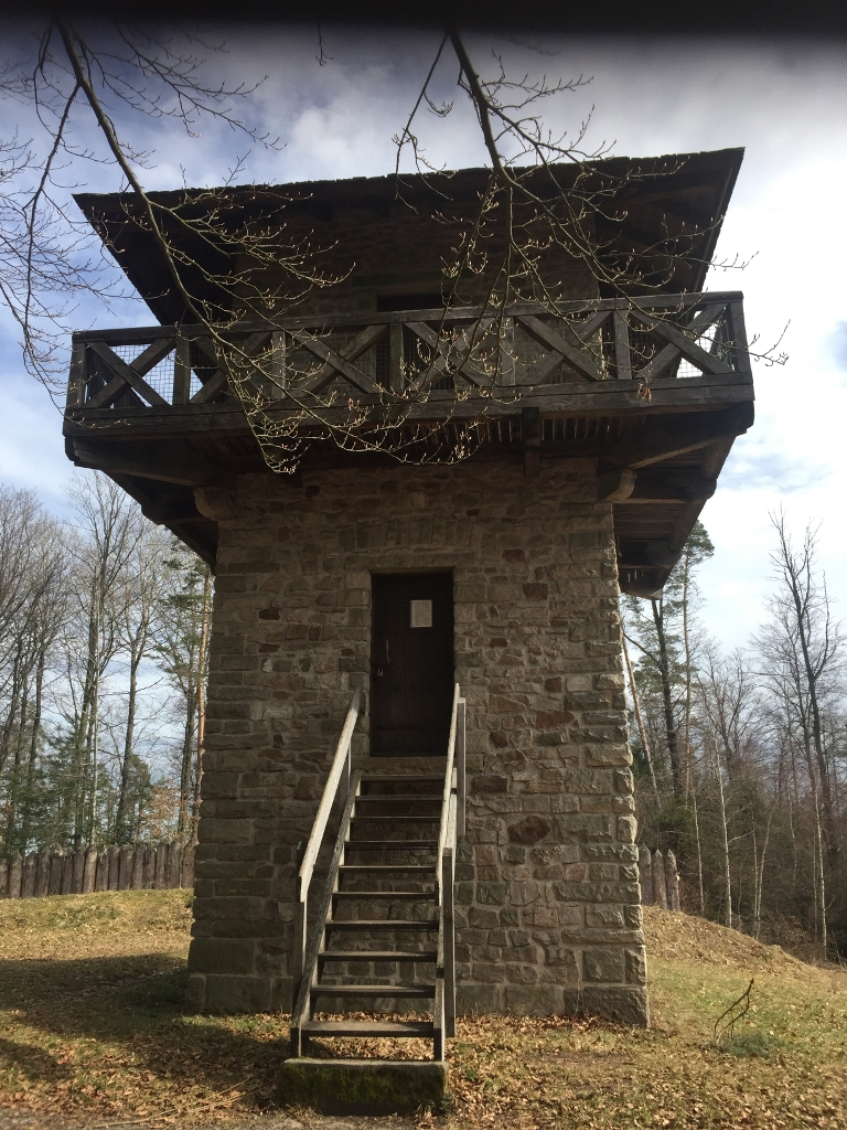 Oberroter Wanderwege 2 - Limeswachturm