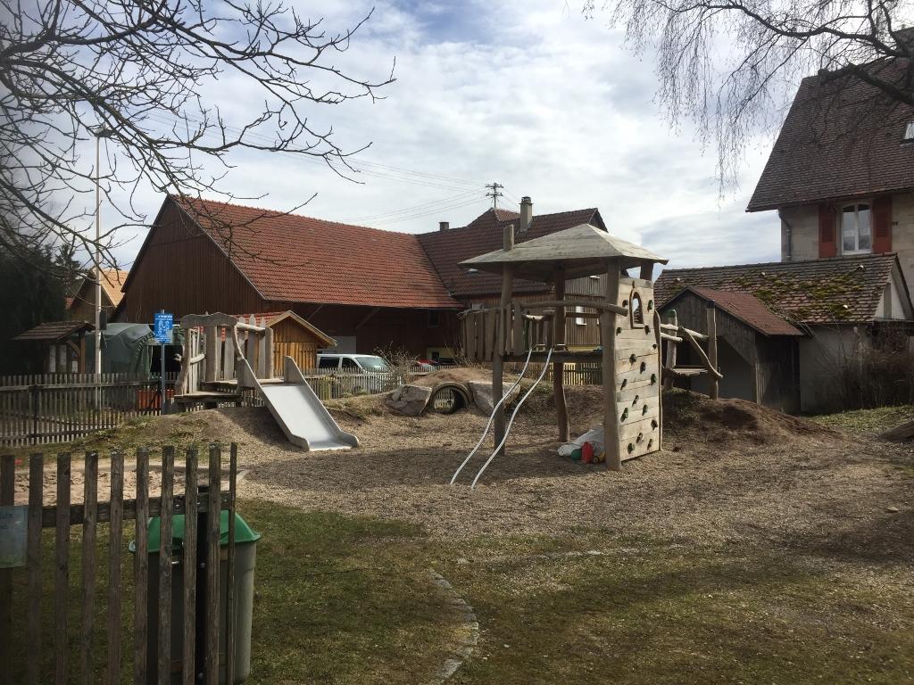 Spielplatz in Grab