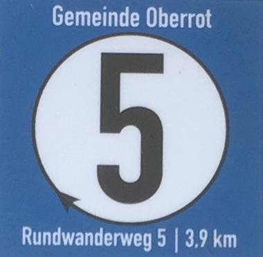 Oberroter Wanderweg 5